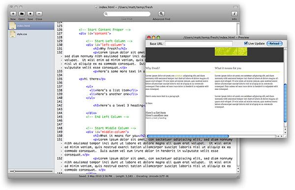 Fraise screenshot