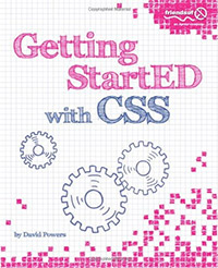 Getting StartED with CSS by David Powers - cover image