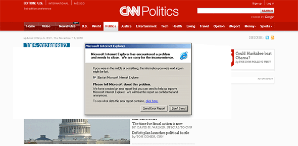 CNN in IE6