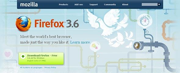 Mozilla in Firefox 3.6