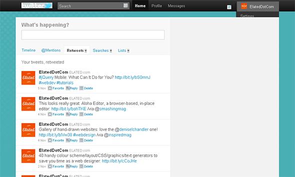 Twitter in IE6