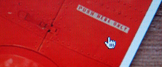 Mouse pointer screenshot