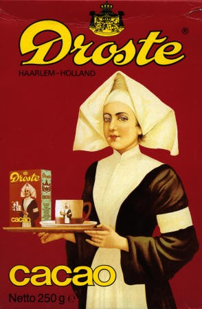 Droste cocoa tin picture