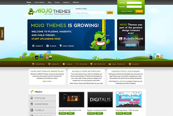 Mojo Themes Giveaway Win Credits To Spend On Premium Themes