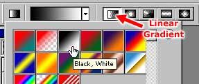 Choosing a gradient type
