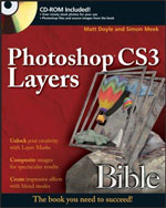 Photoshop CS3 Layers Bible cover