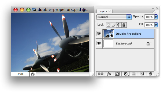 A Smart Object in Photoshop
