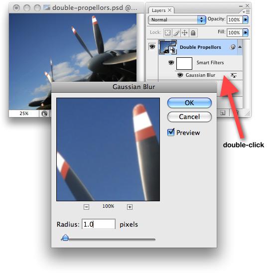 Editing a Smart Filter