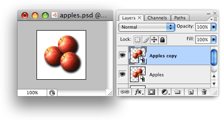 Smart Object with duplicate