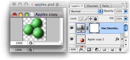 Editing the duplicate Smart Object