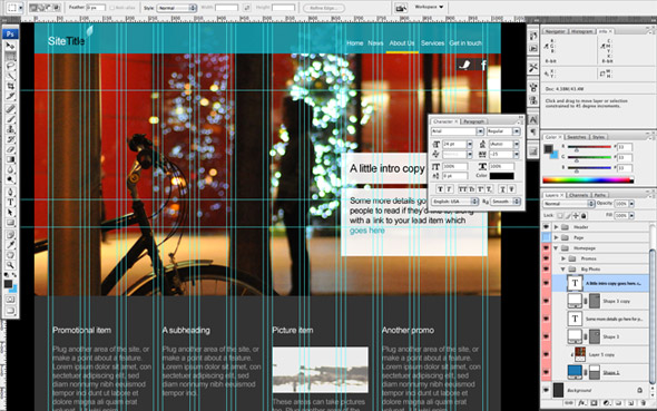 Photoshop CS3 screenshot