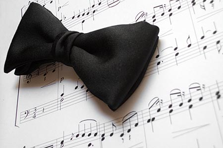 Music and bow tie