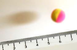 Bouncing ball and ruler