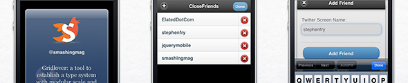 jQuery Mobile Masterclass: Build a Simple, Attractive Twitter App for iPhone