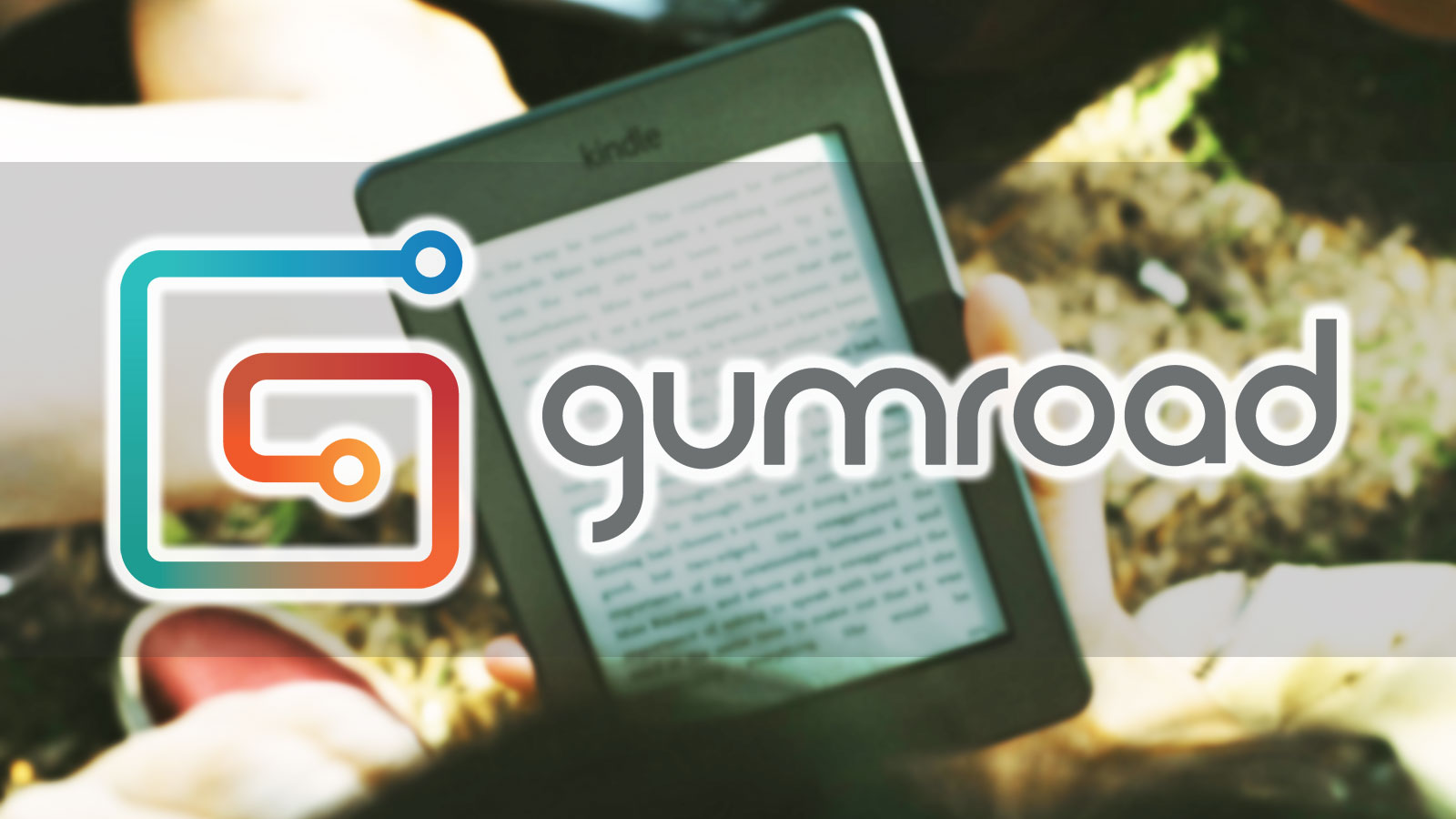 Gumroad logo and eBook