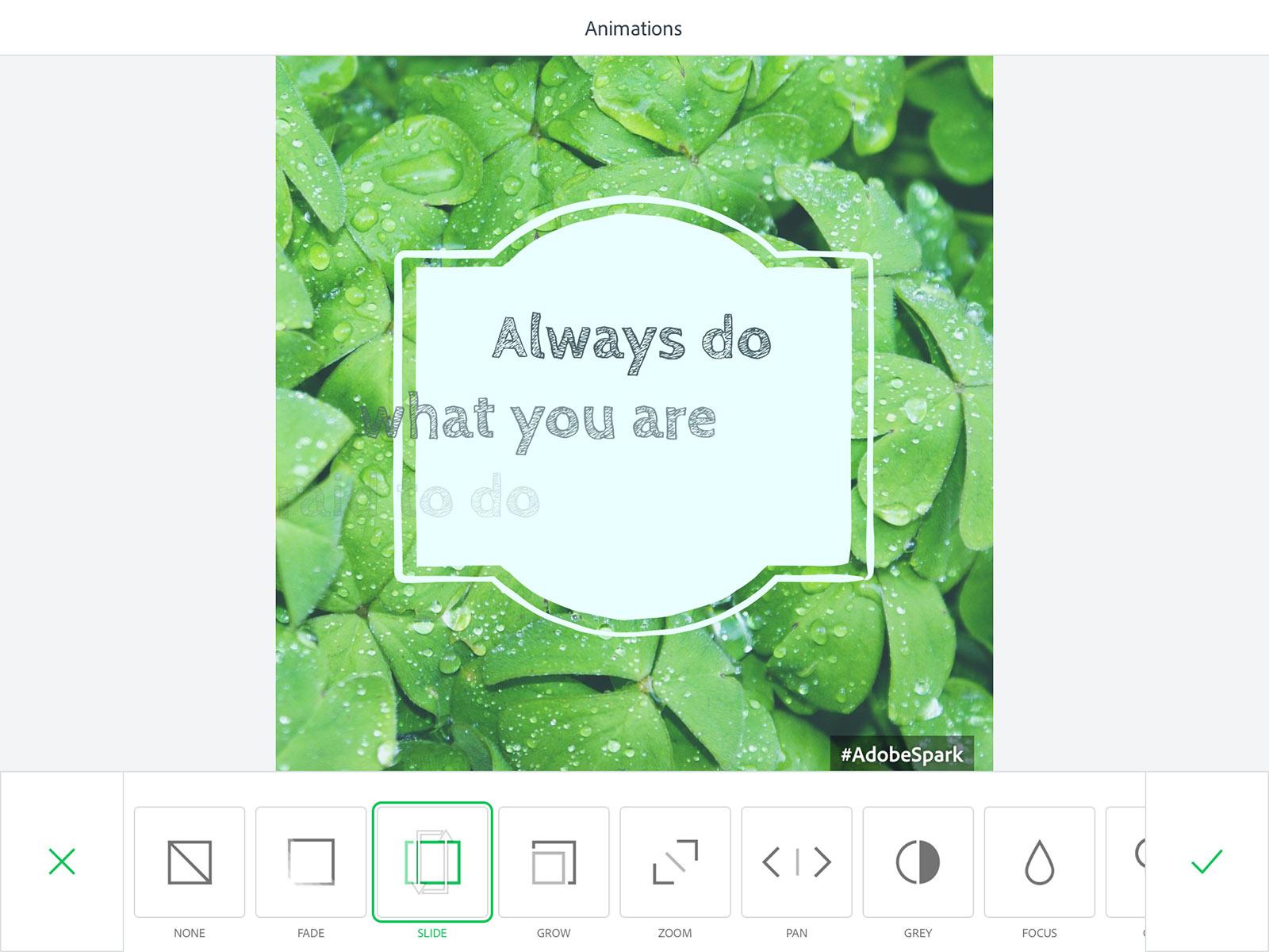 Adobe Spark Post: Mobile app
