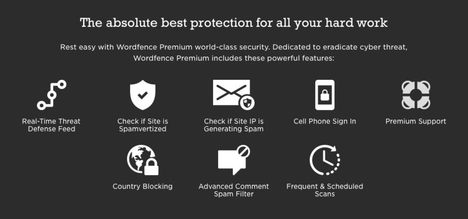 Wordfence Premium Features