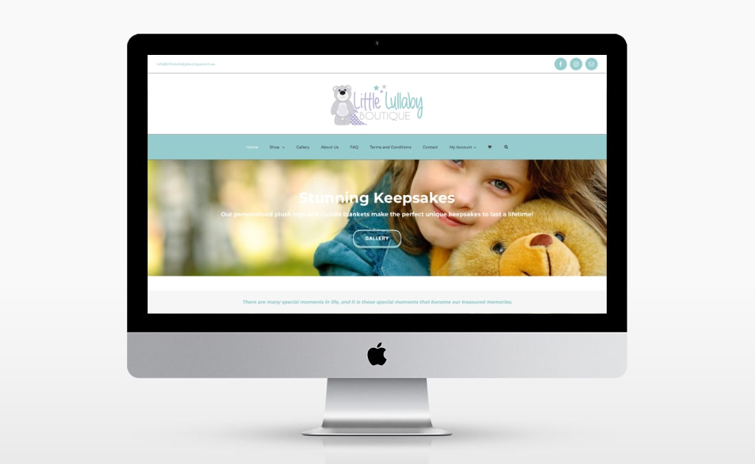 Little Lullaby Boutique (iMac)
