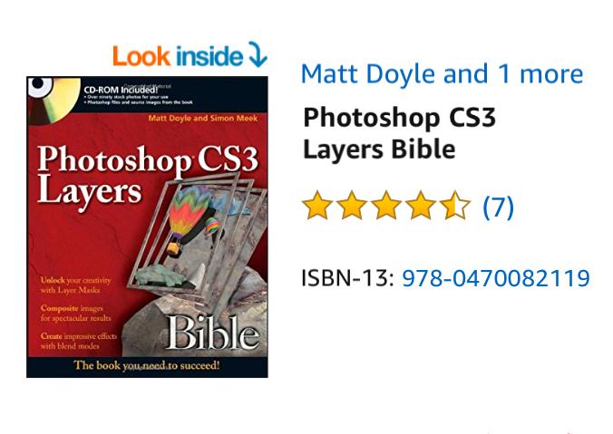 Photoshop CS3 Layers Bible (Amazon)